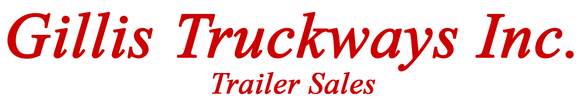 Jc Trailers Gillis Truckways Inc